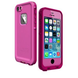 Pre-owned LifeProof iPhone 5/5s case (fre model)